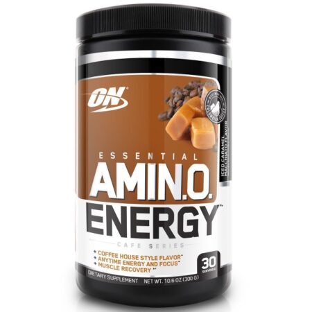 OPTIMUM NUTRITION ESSENTIAL AMINO ENERGY – ICED CARAMEL MACCHIATO