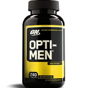 OPTIMUM NUTRITION OPTI-MEN – 240 EA