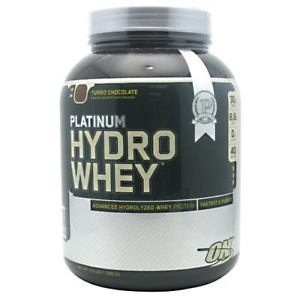 OPTIMUM NUTRITION PLATINUM HYDROWHEY – TURBO CHOCOLATE 3.5 LBS