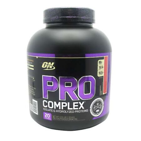 OPTIMUM NUTRITION PRO COMPLEX – STRAWBERRY SWIRL 3.31 LBS