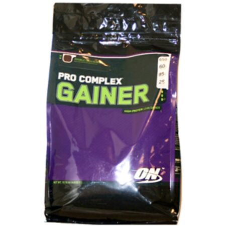 OPTIMUM NUTRITION PRO COMPLEX GAINER – DOUBLE CHOCOLATE 10 LBS