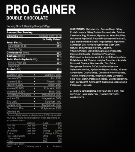 ON PRO COMPLEX GAINER