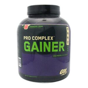 OPTIMUM NUTRITION PRO COMPLEX GAINER – STRAWBERRY CREAM 5 LBS