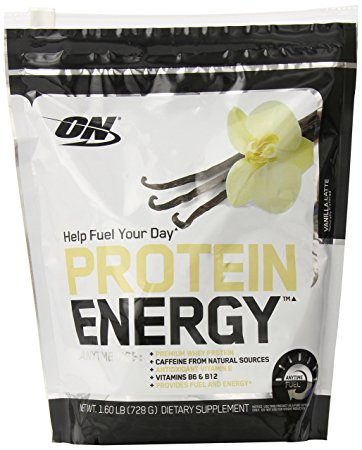 OPTIMUM NUTRITION PROTEIN ENERGY – VANILLA LATTE