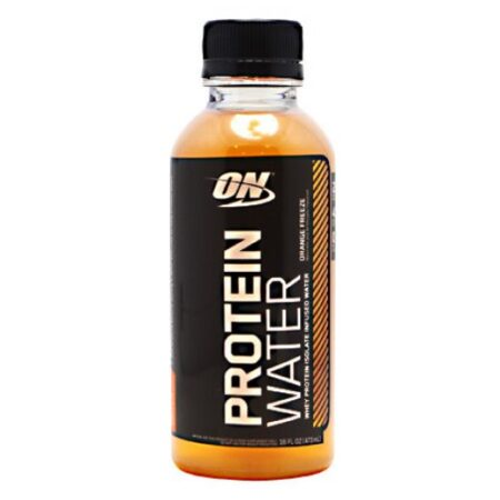 OPTIMUM NUTRITION PROTEIN WATER – ORANGE FREEZE 12 EA