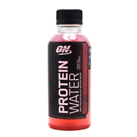 OPTIMUM NUTRITION PROTEIN WATER – TROPICAL FRUIT PUNCH 12 EA