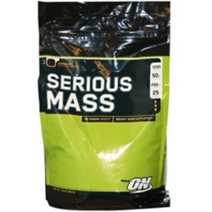 OPTIMUM NUTRITION SERIOUS MASS – CHOCOLATE 12 LBS