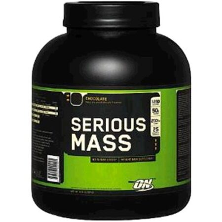 OPTIMUM NUTRITION SERIOUS MASS – CHOCOLATE 6 LBS