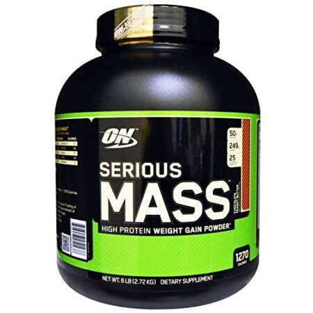 OPTIMUM NUTRITION SERIOUS MASS – CHOCOLATE PEANUT BUTTER 6 LBS