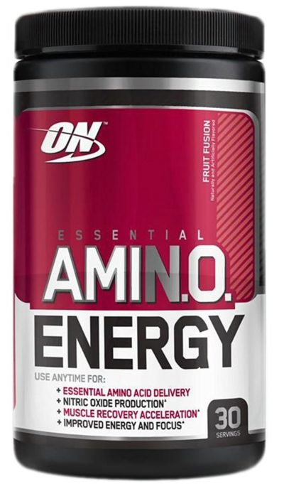 OPTIMUM NUTRITION ESSENTIAL AMINO ENERGY – FRUIT FUSION 30 SERVINGS