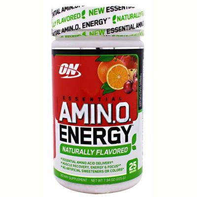 OPTIMUM NUTRITION FREE ESSENTIAL AMINO ENERGY – SIMPLY FRUIT PUNCH