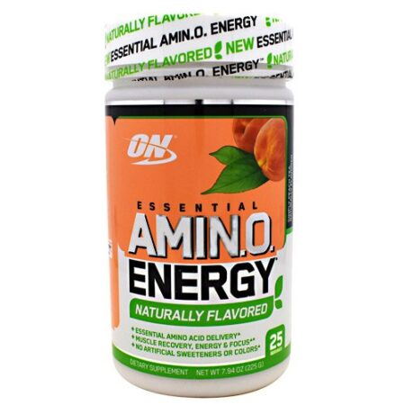 OPTIMUM NUTRITION FREE ESSENTIAL AMINO ENERGY – SIMPLY PEACH TEA
