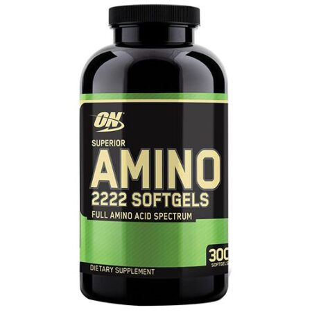 OPTIMUM NUTRITION SUPERIOR AMINO 2222 – 300 TABS