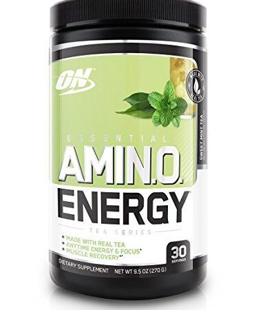 OPTIMUM NUTRITION TEA SERIES ESSENTIAL AMINO ENERGY – SWEET MINT TEA
