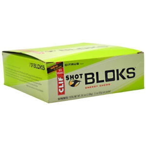 CLIF BAR SHOT BLOKS ENERGY CHEWS – CITRUS