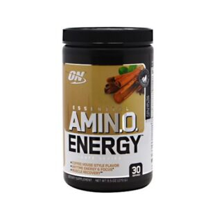 OPTIMUM NUTRITION CAFE SERIES ESSENTIAL AMINO ENERGY – ICED CHAI TEA LATTE
