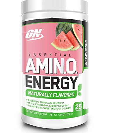 OPTIMUM NUTRITION FREE ESSENTIAL AMINO ENERGY – SIMPLY WATERMELON