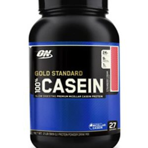 OPTIMUM NUTRITION GOLD STANDARD 100% CASEIN – STRAWBERRY CREAM 2 LBS