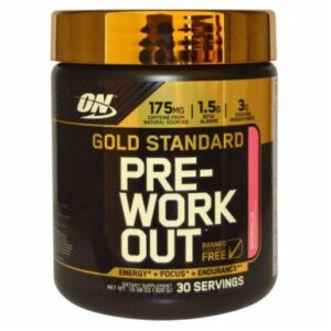 OPTIMUM NUTRITION GOLD STANDARD PRE-WORKOUT – WATERMELON 30 EA