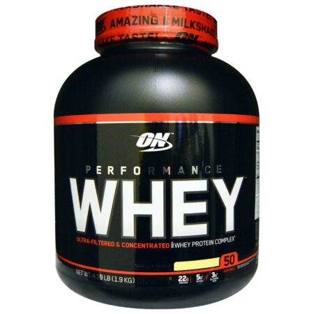 ON PERFORMANCE WHEY – VANILLA SHAKE 4.19 LBS