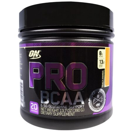 OPTIMUM NUTRITION PRO SERIES PRO BCAA – PEACH MANGO