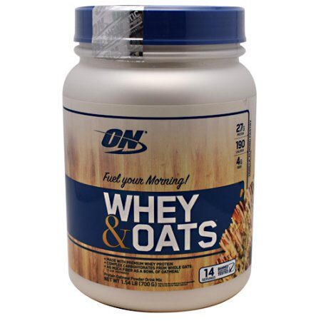 OPTIMUM NUTRITION WHEY & OATS – VANILLA ALMOND PASTRY
