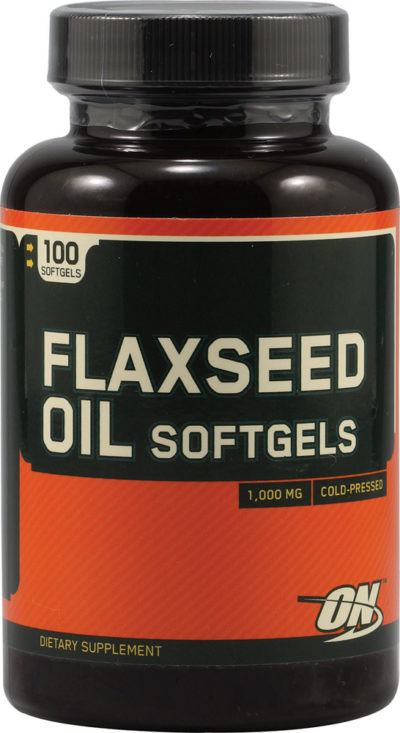 OPTIMUM NUTRITION FLAXSEED OIL SOFTGELS