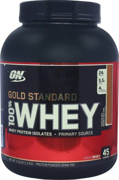 ON GOLD STANDARD 100% WHEY – CHOCOLATE PEANUT BUTTER 3 LBS