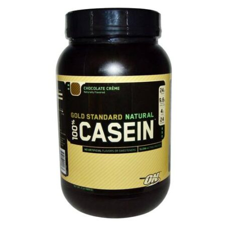 OPTIMUM NUTRITION GOLD STANDARD NATURAL 100% CASEIN – CHOCOLATE CREME 2 LBS